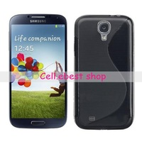 For Samsung Galaxy SIV S IV 4 S4 i9500,s line silicone gel tpu case,10pcs/lot,free shipping,high quality