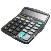 $5 off per $50 order FREESHIPPING Trnfa 837B calculator  a large computer display dual power calculator 12 digit LCD display