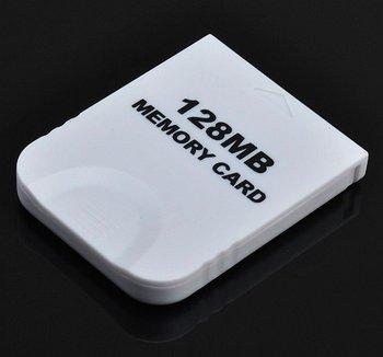 15pcs/lot 128MB 128 MB Memory Card For NINTENDO WII GameCube white 2043 blocks