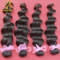 queen hair loose wave virgin brazilian hair weave wholesale price per KG DHL free shipping