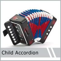New Drop Shipping JUNIOR BABY ACCORDION MINI ACCORDION ACCORDIAN BUTTON BOX For Kids Children High Quality  Free Shpping  1pcs