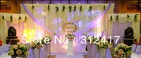 Free shipping Wholesale and retail 3m*6m beautiful style backdrop curtains for wedding favor, wedding supply