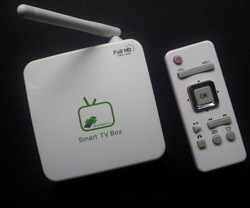Mini Android4.0 TV Box,Network Media player,Game Player,Google TV Box,Flash11,HTML 5,Allwinner A10,1GB DDR3 Free Shipping!(China (Mainland))