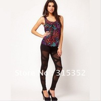 Holiday sale Fashion Style Women Leggings Sexy Knit Lace Plus Size Trousers Capri pants  Render pants Casual Bottoming  pants