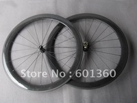 Only 1280g carbon 50mm tubular wheel,carbon ultra light bicycle wheel 700c ( Novatec hubs A291SB/F482SB+CN aer flat 424 spokes)