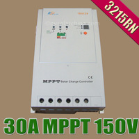 3215RN Tracer MPPT Solar Controller, 100% TURE MPPT 30AMPS 12V 24V Auto Solar Panel Battery Charge Regulators