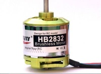 Free Shipping 1200KV Hobbymate Brushless Motor for Rc Airplane Park Flyer Slow Flyer HB2832-8