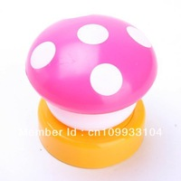 LED Color Mini Mushroom Head Press Down Touch Night Bed Desk Lamp Light Gift  3 LED touch lamp