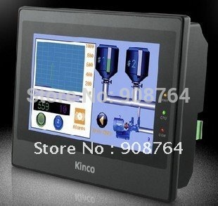 "7"" True color HMI for industries Kinco eView  MT4414T   optional  with RS232+ RS485 + USB"
