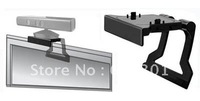 Free shipping-TV clip for xbox 360 kinect sensor, kinect sensor holder, for xbox 360 kinect sensor mount, retail packing