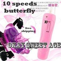 SWA109 Wholesale - sex vibrator clit toys sex toy for woman 10 SPEEDS Strap On Sex Toys