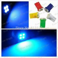 50x T10 194 168 1210 4 Led 4smd high power LED light Bulbs Mix Color