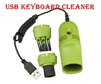 2pcs/lot Mini USB Vacuum Keyboard Cleaner Dust Collector for PC--CL912