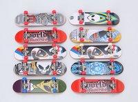 wholesale Free Shipping 10pcs/lot multi-color mini  finger skateboard toys for kids