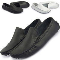 X81046 Sneakers for Men Moccasins Genuine Leather Casual Mens Loafers Driving Shoes