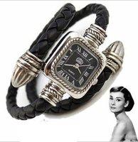 christmas holiday sale  Wholesale Fashion Watch ladies Vintage Snake Roman Leather quartz Bracelet Watch Women KOW004