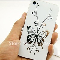 NEW butterfly Glass Back Cover Housing replacement Assembly For Apple iPhone 4 free shipping A206