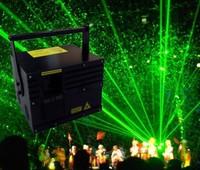 2000mW Single Green 2W Animation Laser Show System Lights DT40K pro Scanner System+Flightcase