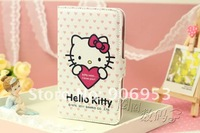 New Hello Kitty Leather Case Cover For Samsung Galaxy Note  I9220 #01
