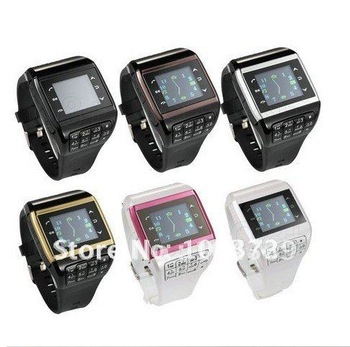 Drop ship accepted, Watch Phone Q8,GSM quad-band,bluetooth,2.0Mcamera,FM,mp3/MP4.Dual sim card watch mobile phone