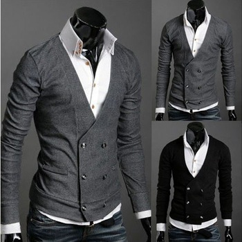 FREE SHIPPING /2012 / fashion/men's clothing/coat/jacket /Winter /sweater