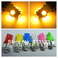200 pcs 5050 Smd T10 5 Leds 194 168 W5W 5SMD Indication Leds Light