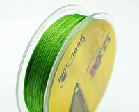 Free Shipping 1pcs gold 100M PE BRAID FISHING LINE ALL LB  Fishing Tackle braided fishing line 100m