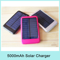 5000mah Solar Charger Mobile Pocket Emergency Power Bank for Mobile Phone Smartphone MP4 GPS Camera PSP PDA Ebook Great Discount