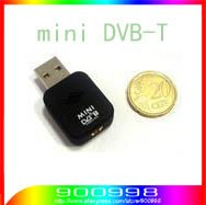 HOT Mini DVB-T Digital Signal USB 2.0 TV Stick Tuner Receiver  free shipping