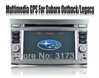 2-Din In Car DVD Player for Subaru Outback / Legacy with GPS Navigation Sat Nav Radio Bluetooth TV Map AUX USB Stereo Multimedia