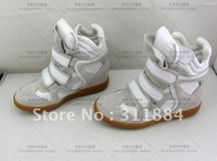 2012 Isabel Marant Sneakers Boots White rice