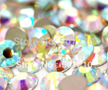 Free shipping  Nail  Rhinestone 1440pcs/set SS6 2mm  perfect  Crystal AB