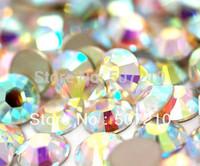 Free shipping  Nail  Rhinestone 1440pcs/set SS6 2mm  perfect  Crystal AB