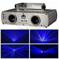 2 Lens Double 300mW Blue 450nm Laser Light Stage Disco Lazer Licht DJ Party Beam Show,DL-11B