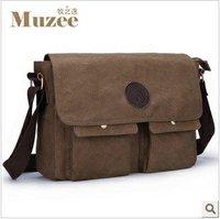 Muzee High-grade Canvas man handbag / Man messenger bag /  Shoulder bag / ME6655-075