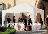 Free shipping beautiful 4mx6m professional aluminum frame wedding gazebo / tent / marquee / canopy
