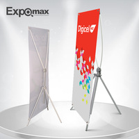 Hot sales!E17B10 Adjustable X banner stand poster stand Trade Show Display Booth adverising  banner stand
