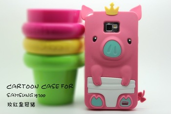 Cute 3D Pig Soft Silicon Back Case for Samsung Galaxy SIII S3 I9300
