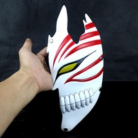 "FREE SHIPPING!!!High-quality resin film mask, the Japanese cartoon BLEACH ""Kurosaki Ichigo"" mask, a god of death falf face  mask"