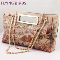 FLYING BIRDS! Hot Sale Fashion women Handbag Women High Quality Shoulder  Messenger Bags  Leather Bag  LS1965