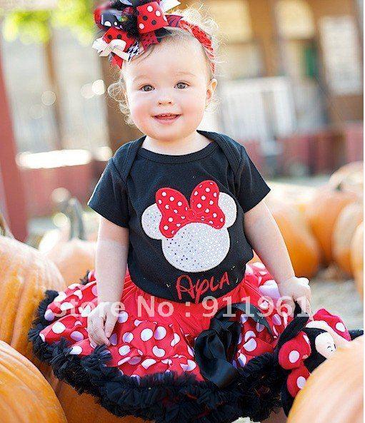 Vestidos Minnie bebé - Imagui