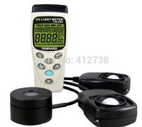 UVA 320-400nm & Solar Power 400-1100nm & Light Lux 400-1100nm 3in1 Meter Tester USB Datalogger 45000 Records TM-208