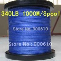 Super Strong 100% UHMWPE 8-Braid Fishing Line 340LB 1.2MM 1000M/Reel