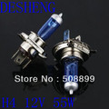 Freeshipping 2 Pcs Halogen Xenon Low Beam H4 12V 60/55W P43T Super White Light Bulbs 6000K +Dropshipping