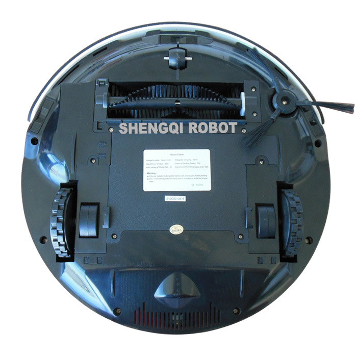 4 in 1 Intelligent and Smart Auto Recharge with Virtual Wall, Big Mop, Remote Control Function Robot Vacuum Cleaner