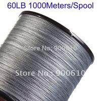Super Strong 100% UHMWPE Fishing Line 4-Braid 60LB 1000Meters/Reel