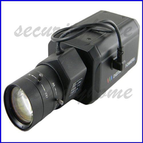 High Resolution SONY OSD Effio DSP CCD HD 700TVL 6-60mm DC Auto lens Security CCTV Box camera(China (Mainland))