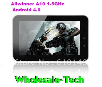 2012 Hot selling 7 inch Allwinner A10 Tablet PC Q702 1GB DDR3 8GB HDD with Android 4.0 Capacitive Touch Camera HDMI WIFI 3D Game
