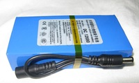 The large capacity rechargeable lithium battery backup power supply of 12V 6800mA 12 volt 6500 mA  DC12680