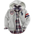 High quality children's hooded cardigan sweater children's sportswear autumn winter polo coat Handsome boys jacket free shipping